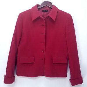 Ann Freedberg Wool Cashmere Pink Jacket